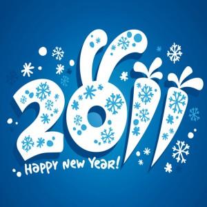 прикольная картинка новый год 2011