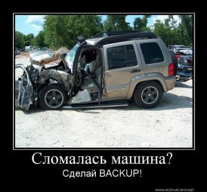 backup резервное копирование