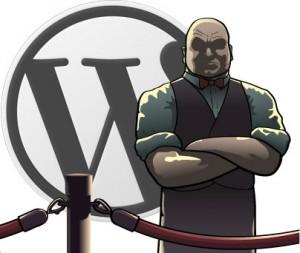 wordpress exclude