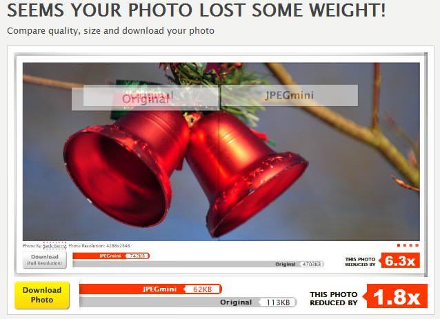 уменьшить изображение без потери качества